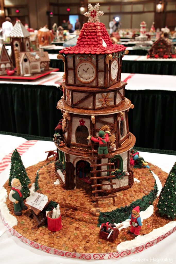 23rd Gingerbread House Competition At The Grove Park Inn