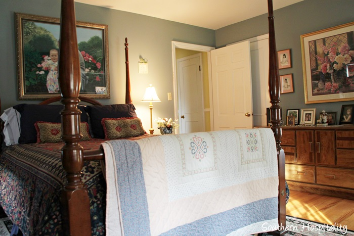 Updating a 1950s Brick Ranch Home Southern Hospitality – 1950s Bedroom