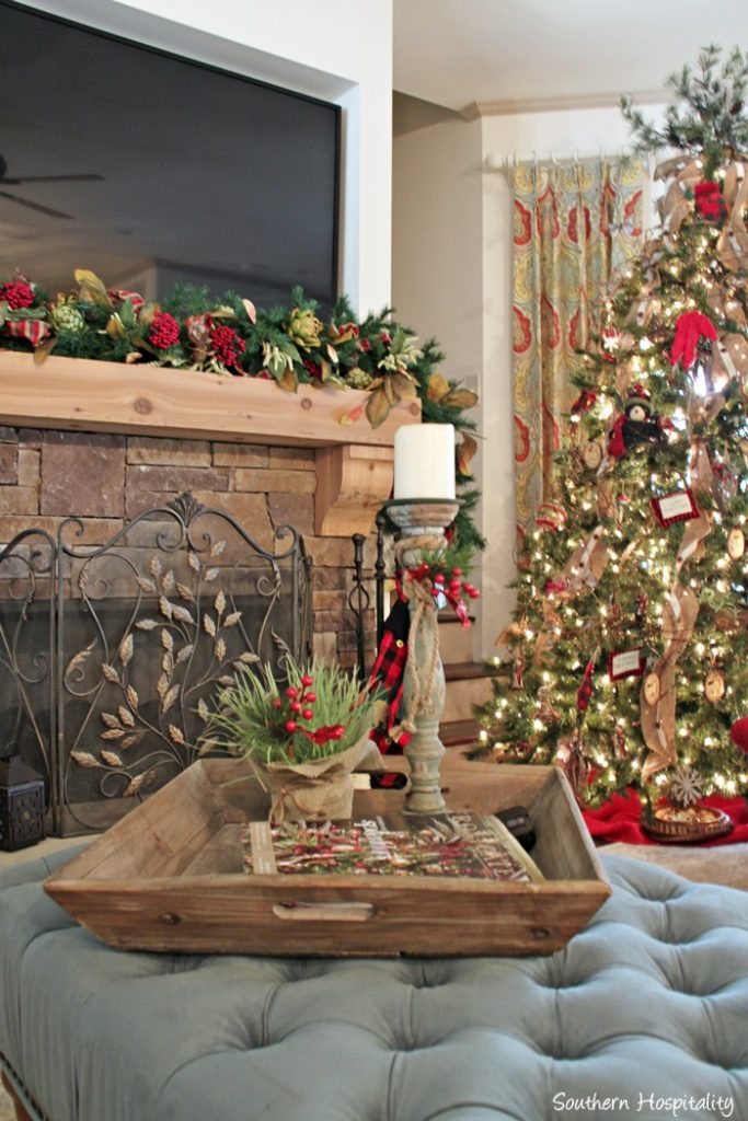 Feature Friday Christmas At Ruby S Lake House Southern