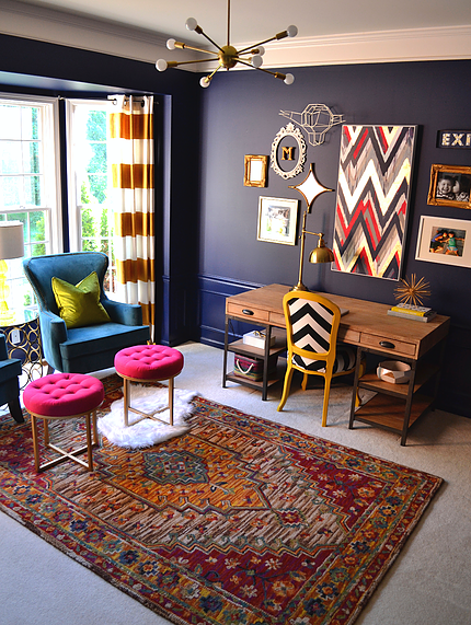 Feature friday haneen 39 s haven southern hospitality for Eclectic apartment decorating ideas