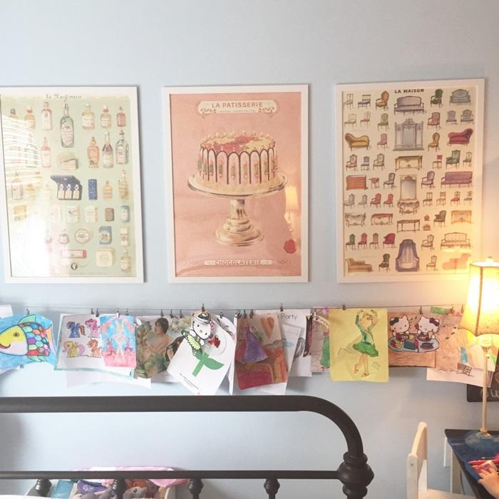 girls room art