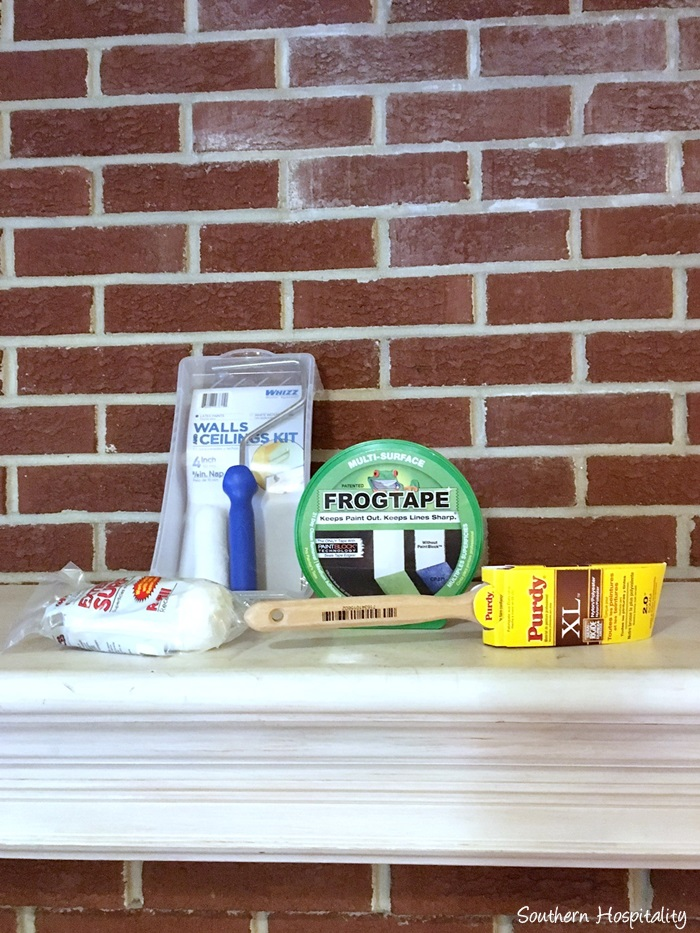 How To Remove Paint From Brick Fireplace Fireplaces