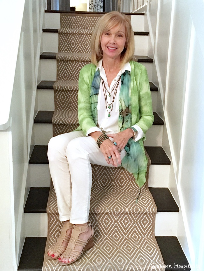 Fashion Over 50 White Jeans