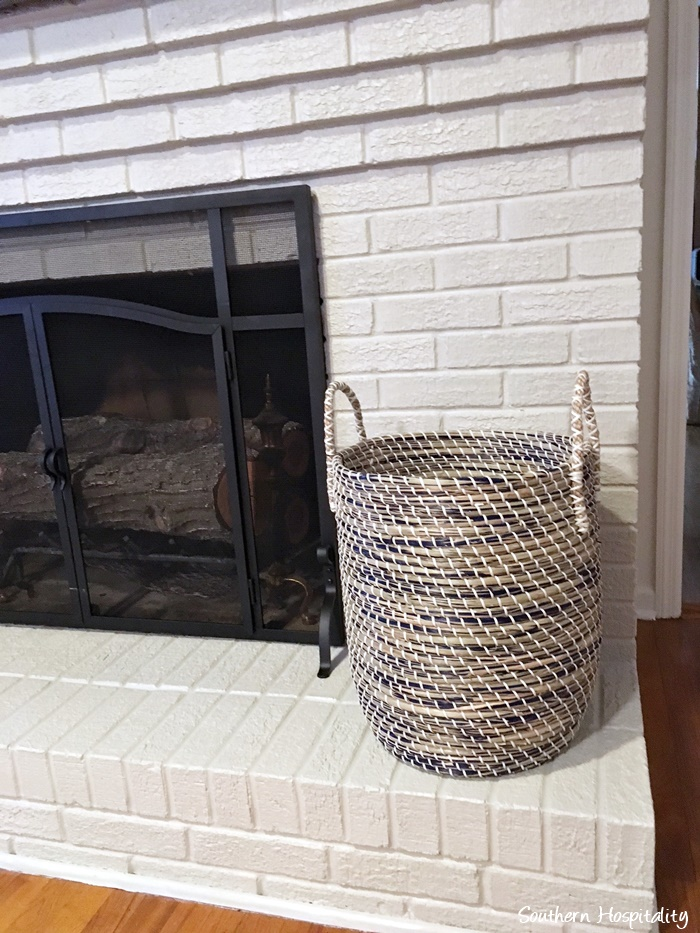 how to make a fireplace look better before its finished