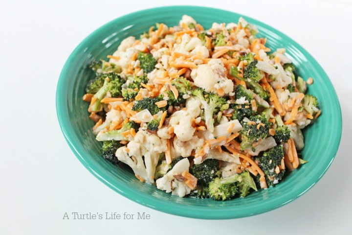 Broccoli-Cauliflower-Salad-A-Turtles-Life-for-Me-720x480