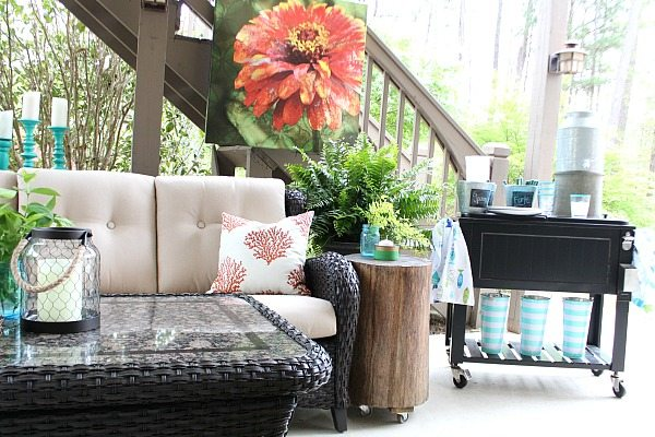 Simple refresh restyle patio