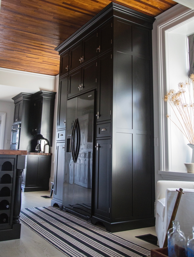 Floor To Ceiling Custom Cabinets For The Kitchen