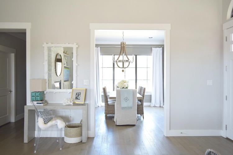 entry-console-table-styling-dining-restoration-hardware-dining-room-wine-barrel-chandelier-1