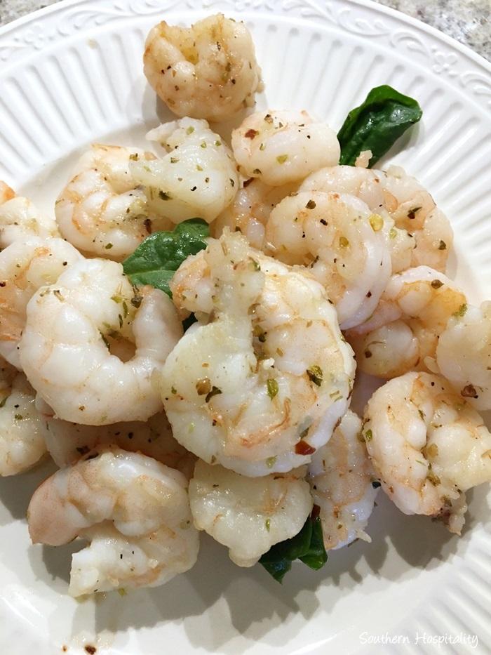 lemon garlic shrimp pasta006