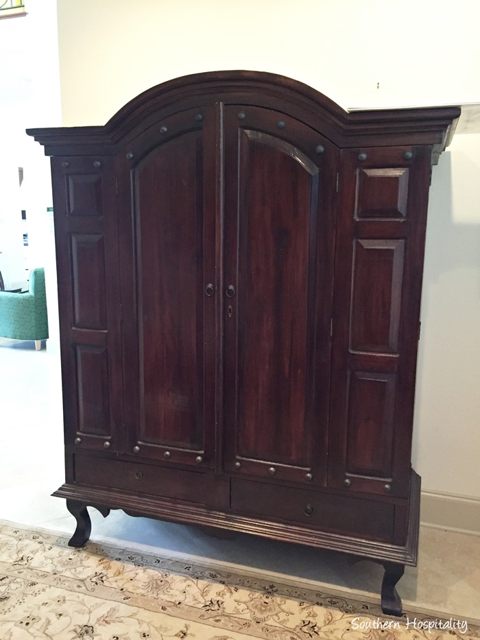 How to Make a Sewing Armoire - Southern Hospitality