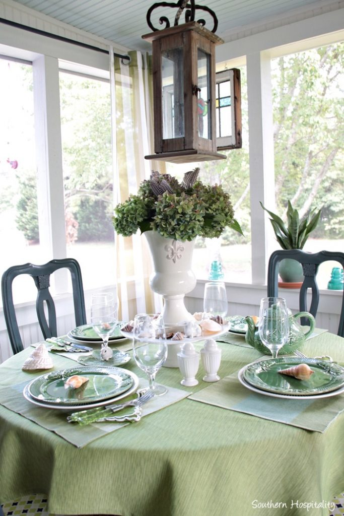 summer table green006