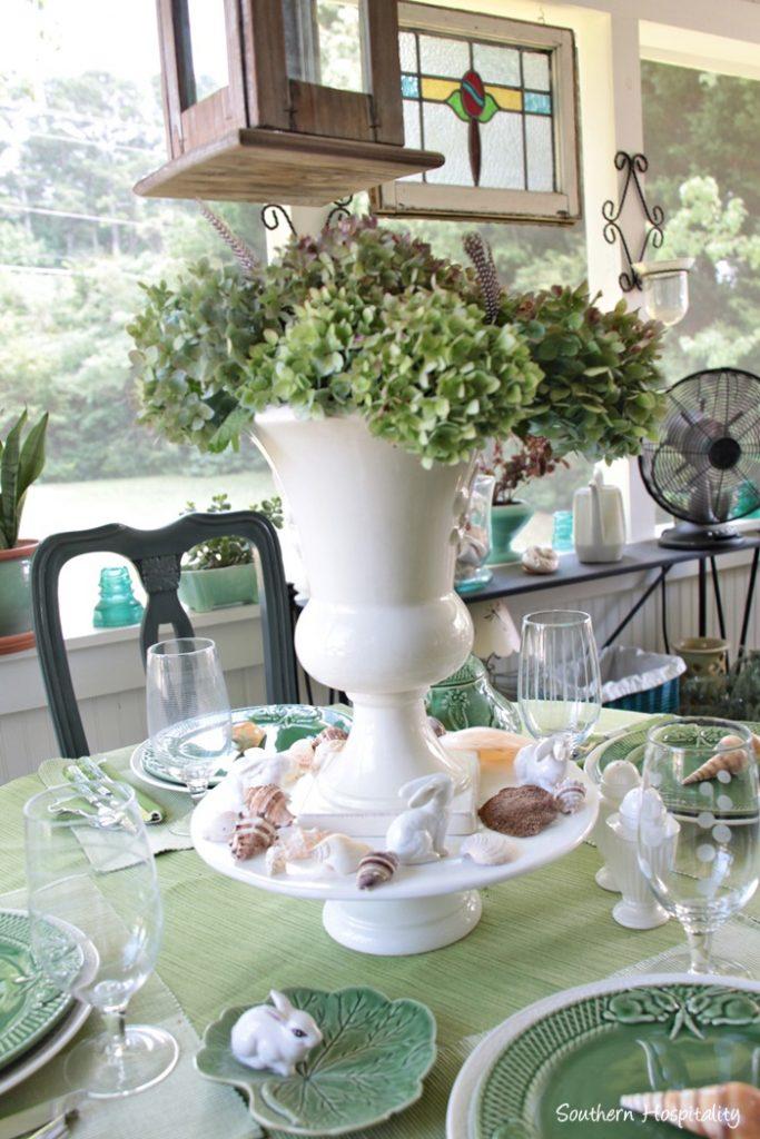summer table green007