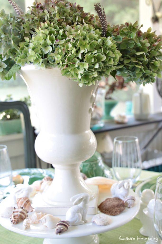 summer table green008