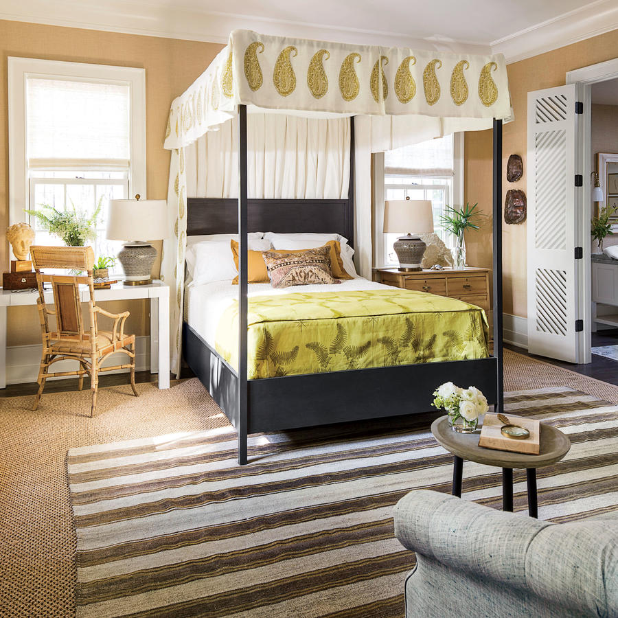 Mansion Master Bedroom: Feature Friday: Southern Living Idea House/Birmingham 2016