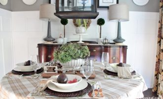 Fall Tabletop and Kitchen Inspiration