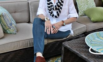 Fashion over 50:  In Between Fall Days