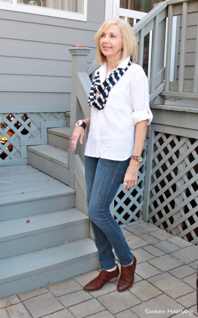 Fashion Over 50 In Between Fall Days Southern Hospitality
