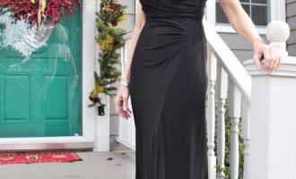 Fashion over 50:  Black Tie Dress