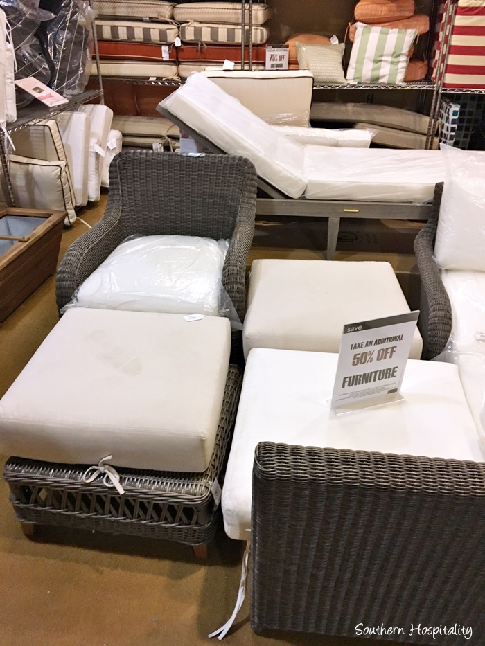Bon Outdoor Furniture And Cushions Are In The Store.