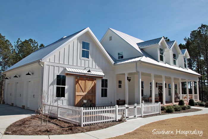 Modern Farmhouse Plans marvelous southern country house plans #2: modern-farmhouse