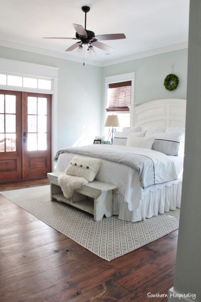 Feature friday modern farmhouse in north atlanta for Modern farmhouse bedroom