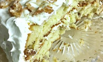 Pistachio & Coconut Cake from Taste of Home