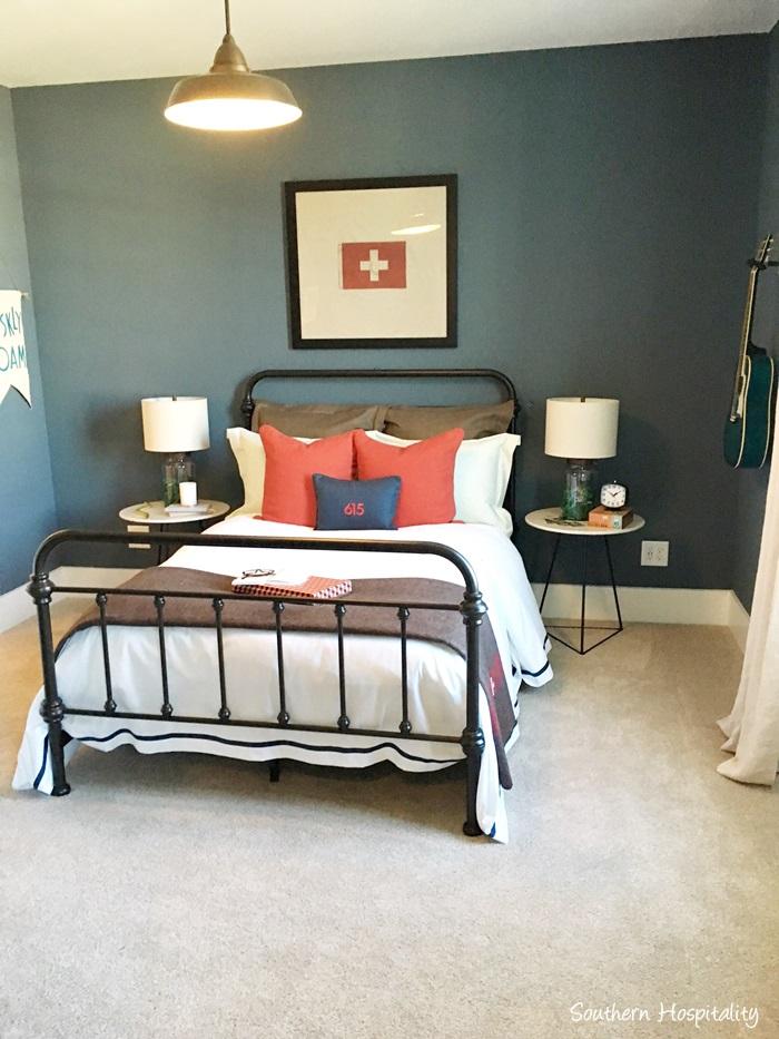 Cool Boy us Bedroom Designed by Amanda Carlson Interiors