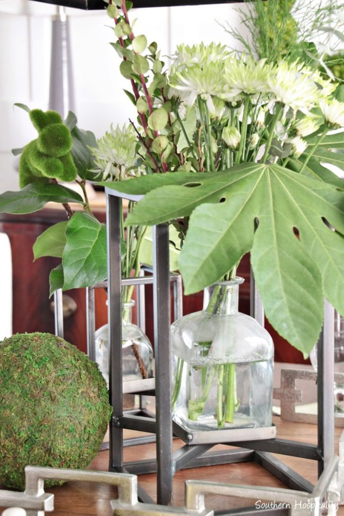 spring leaf table welcome spring home tour 2017 southern hospitality