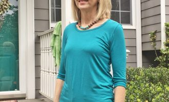 Fashion over 50:  Spring Comfort Top