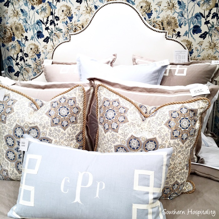 subdued and beautiful shades of hues in this bedding collection at eastern accents iu0027m finding i like to use neutral bedding and accent with colors in the