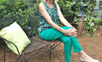 Fashion over 50:  Spring Pants and Top