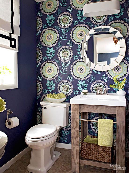 Unique Decorating with Wallpaper