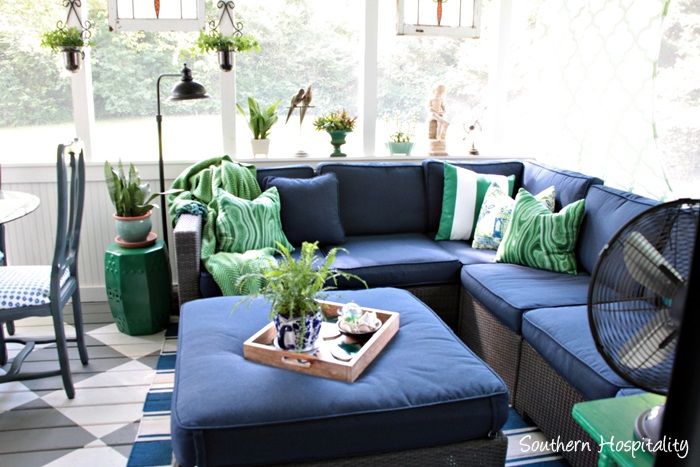 screen porch makeovers southern hospitality