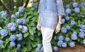 Fashion over 50:  Off the Shoulder Top