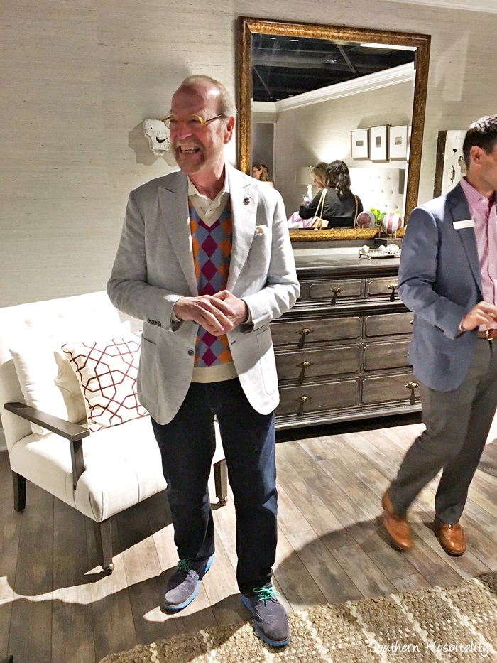While In High Point, It Was Such A Pleasure To Meet Alexander Julian In  Person. You Know, The Fashion Designer Turned Furniture Designer?