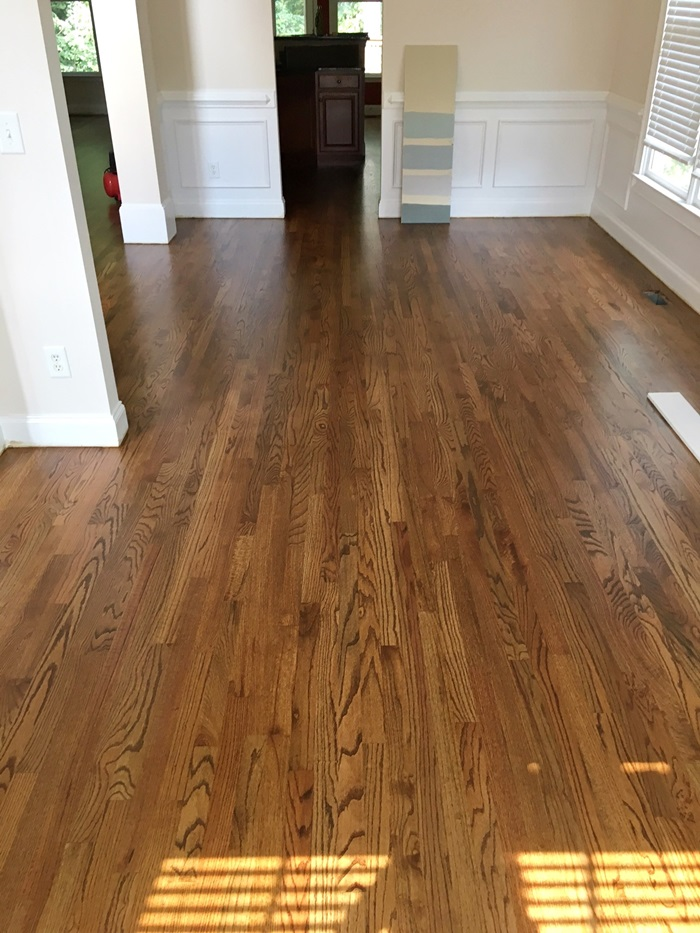House Update Hardwood Floors Southern Hospitality