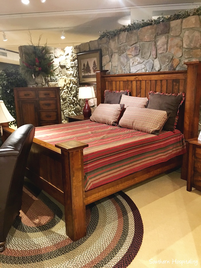 Nice And this one that I named the Paul Bunyan bed I just can ut get on board with the Stickley pieces but he loves them What can I say