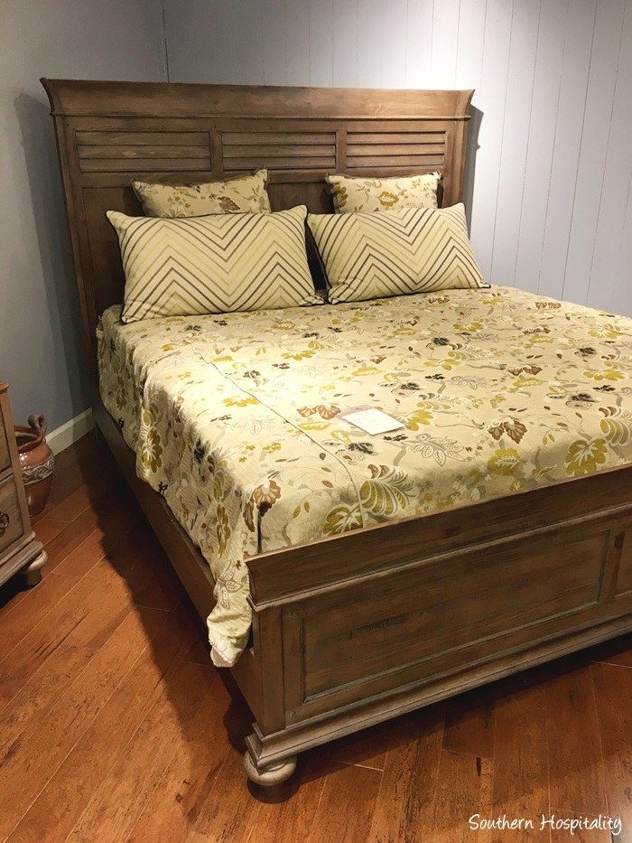 Simple I think we uve found a bed we love This panel bed was in the Kincaid outlet store and it appeals to both of us so I think this is the winner