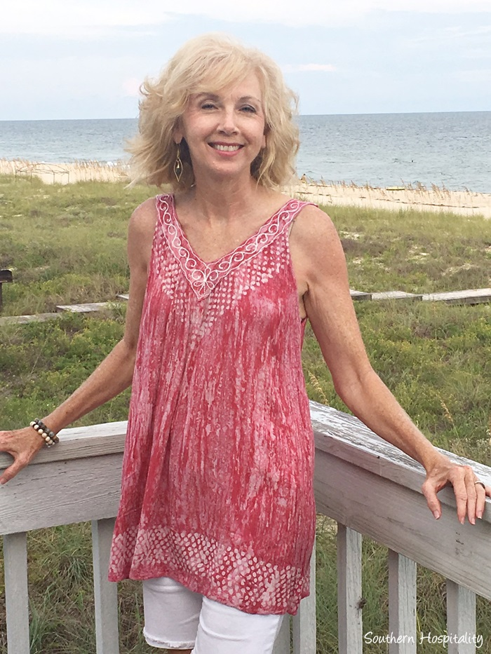 Fashion Over 50 Beach Casual Southern Hospitality