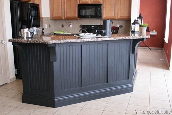 Wood Panel Kitchen Makeover