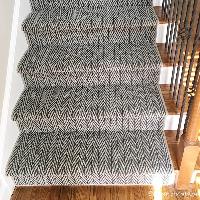 Grey Stair Runner