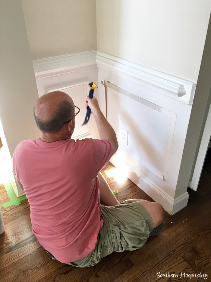 Beadboard Wainscot In The Dining Room, How To Add Wainscoting Dining Room