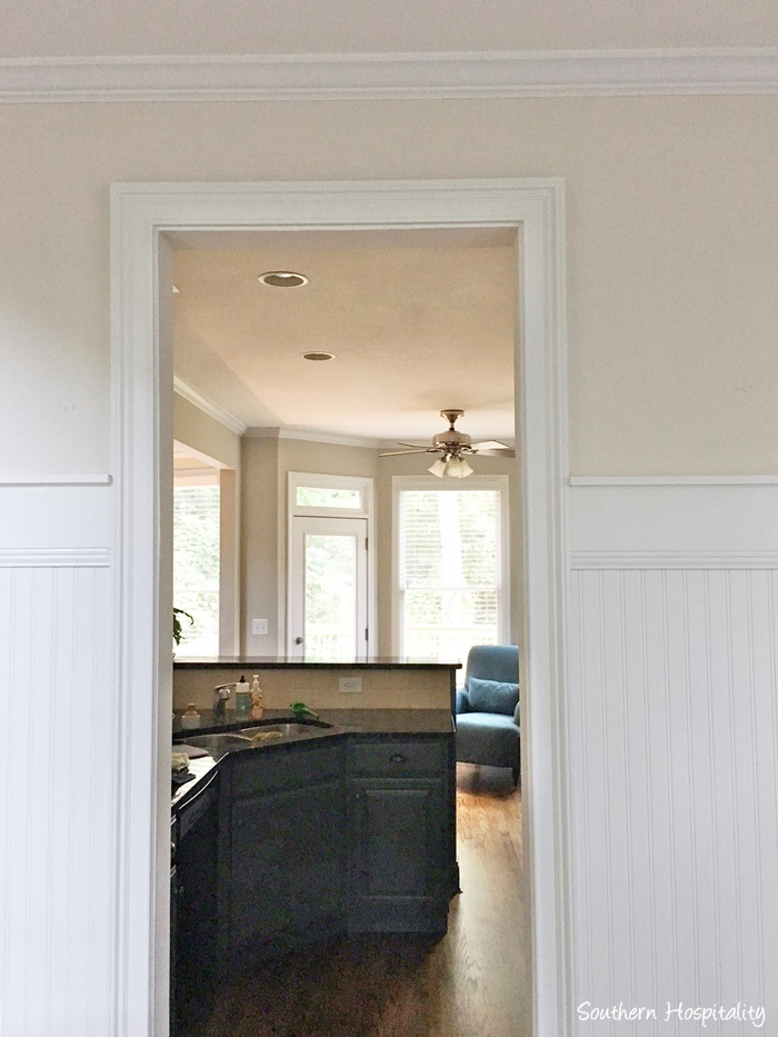 lovely living rooms beadboard | Beadboard Wainscot in the Dining Room - Southern Hospitality
