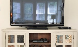 Painting a Media Cabinet