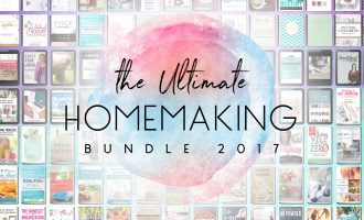 The Ultimate Homemaking Bundle Flash Sale 2017