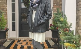 Fashion over 50: Sweater Dress and Boots