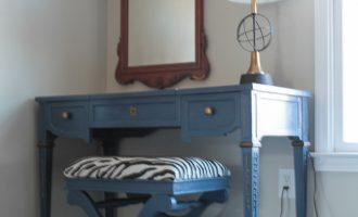 Master Bedroom Painted Vanity