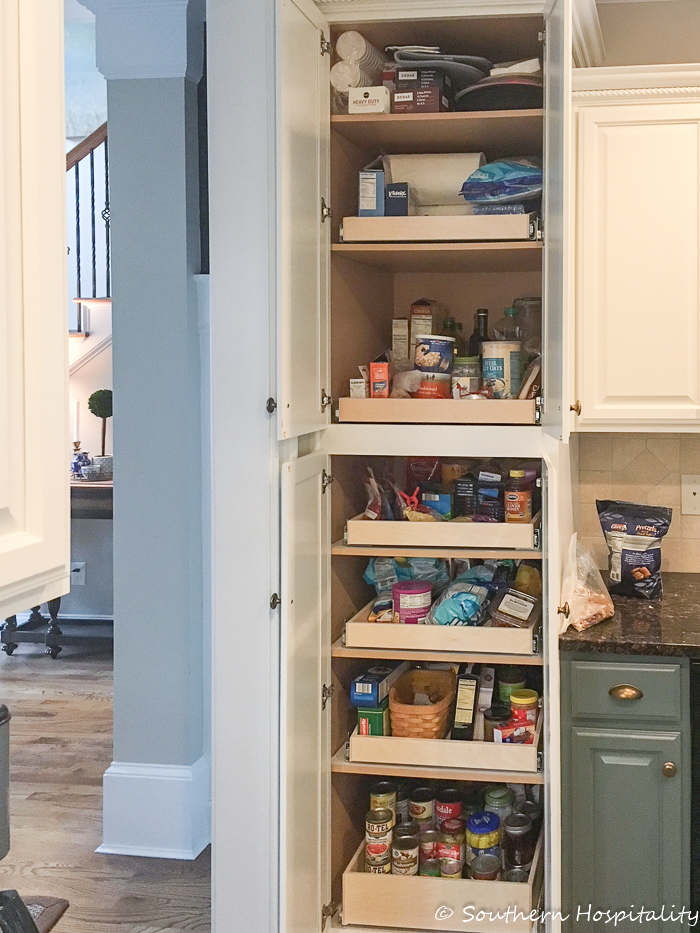 Installing Sliding Shelves In A Pantry