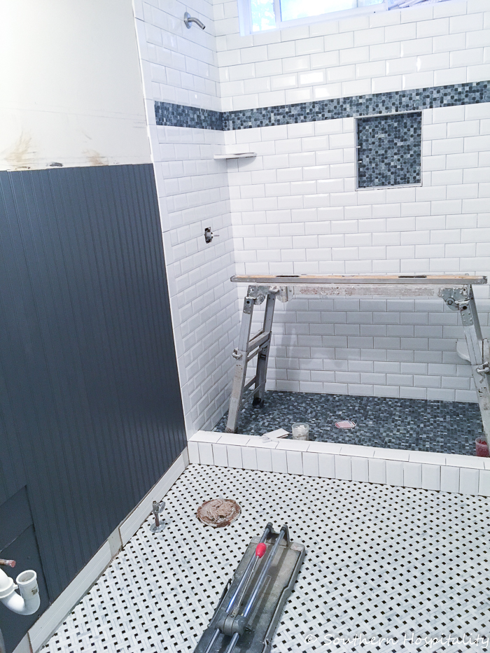 Guest Bath Renovation Progress