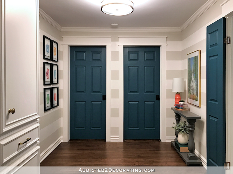 Painting Interior Doors garage